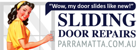 Parramatta sliding door repairs sydney logo